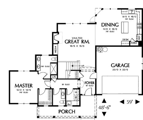 nhd home plans craftsman style house plan 3 beds 2 5 baths 1896 sq ft plan 48 373