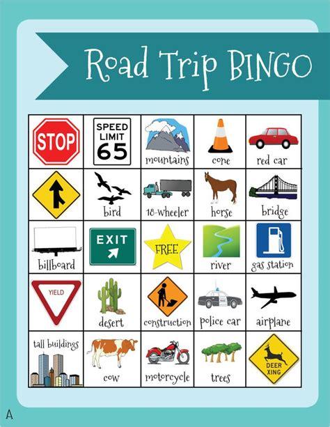 printable road trip bingo cards 25 best ideas about travel bingo on pinterest road trip