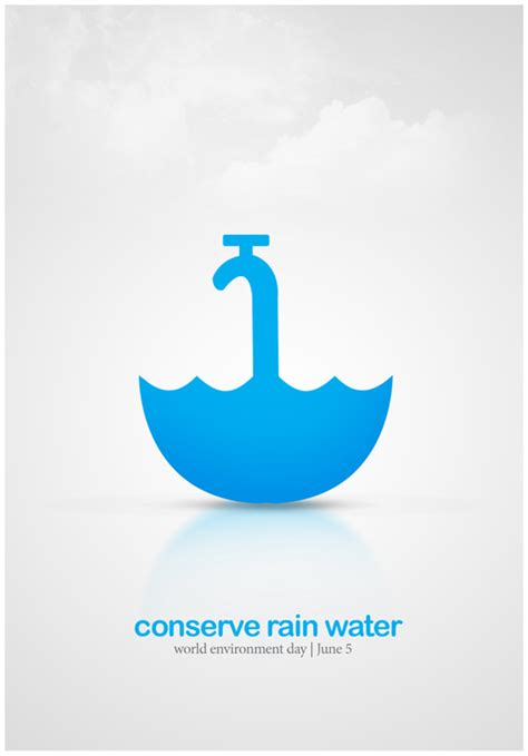 design poster save water designjunction in nitin garg communication designer