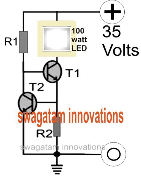 Driver Led 100 Watt Make A 100 Watt Led Floodlight Constant Current Driver Circuit