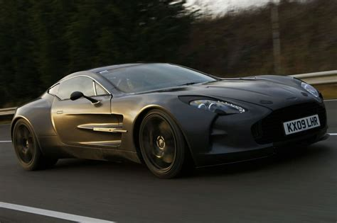 Aston Martin One 77 by Aston Martin One 77 Does 220mph During Testing
