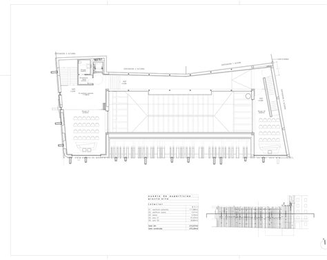 market mall floor plan gallery of getafe market cultural center a cero 20