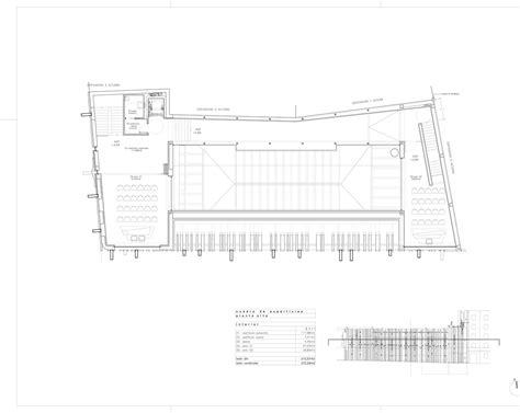 cultural center floor plan gallery of getafe market cultural center a cero 20