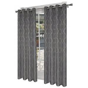 Thermal Drapes Lowes Design Decor 7 Ft L Room Darkening Solid Ash Grey Thermal