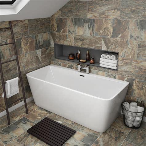 Bathtub Plumbing by Btw Modern Square Bath Plumbing