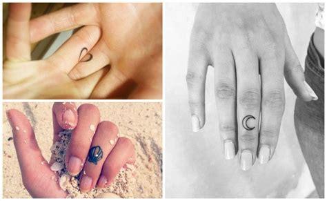 dedo y la lunael tatuajes en los dedos todo lo que debes saber antes de tatuarte