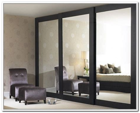 Sliding Mirror Closet Doors Makeover Mirrored Closet Mirror Closet Sliding Doors