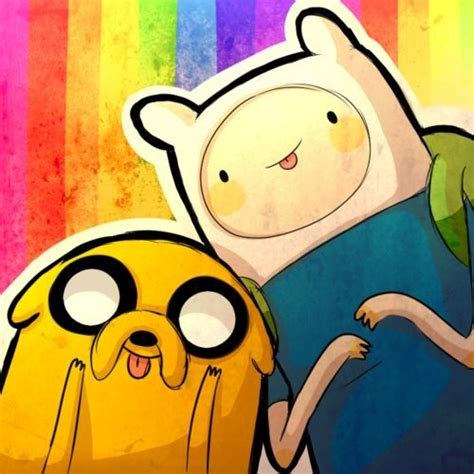 Adventure Time Jake And Finn Crayon Rainbow Iphone All Hp jake adventure time finn image 514886 on favim