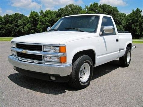 car engine repair manual 1996 chevrolet 1500 electronic valve timing find used 1996 chevy pickup 1500 regular cab stepside sliding glass automatic v8 in memphis