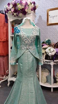 Baju Warna Biru Item baju pengantin songket terbaru 2015 wedding dress best wedding dress and wedding