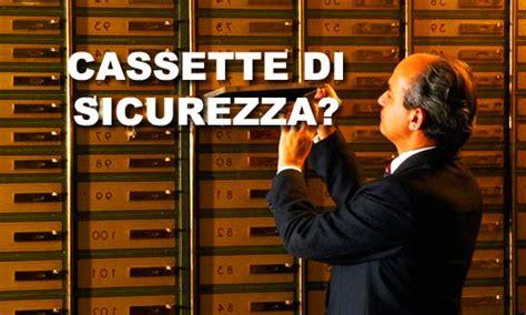 cassette di sicurezza banca cassette di sicurezza in banca per evitare la patrimoniale