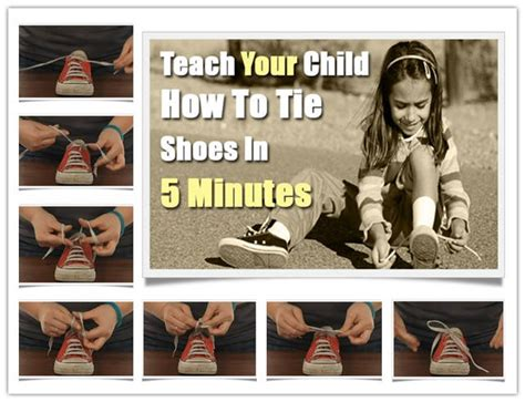 how to teach your kid to tie his shoes teach your child to tie shoes in 5 minutes usefuldiy
