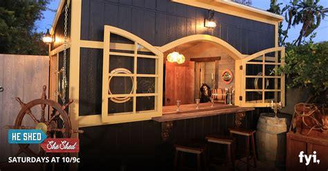 shed  shed episode  baller backyard bars lp
