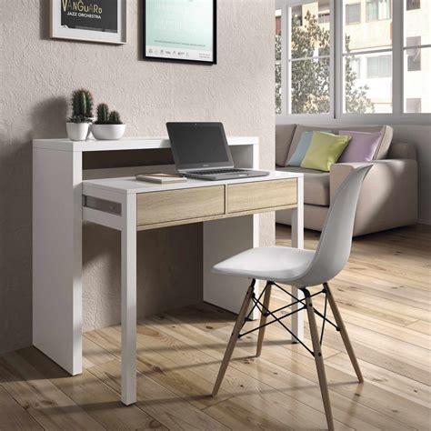 mesas de escritorio carrefour consola escritorio extensible consola convertible en