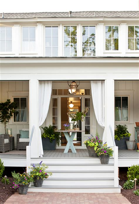 southern living porches wraparound porch cottage porch southern living