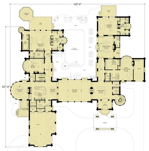castle floor plan picture