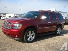 Chevrolet Suv For Sale 2010 Chevrolet Tahoe Suv Ltz Suv For Sale In Houston