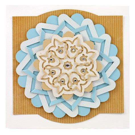 Paper Cutting And Folding - cut and fold medallions cutting collection pazzles craft