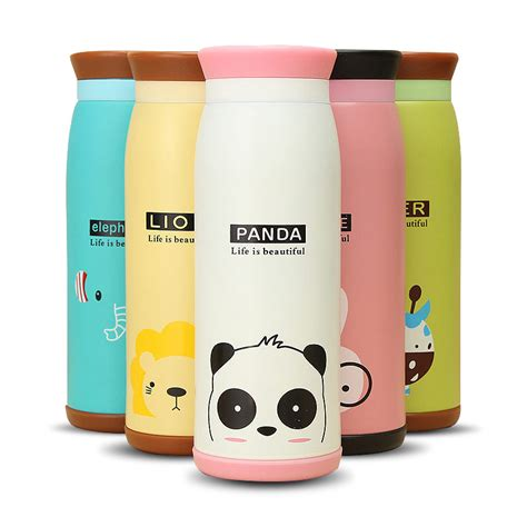 Gratis Ongkir Colourful Thermos Insulated Mik Water botol minum colourful thermos insulated mik water bottle 500ml thermos elevenia