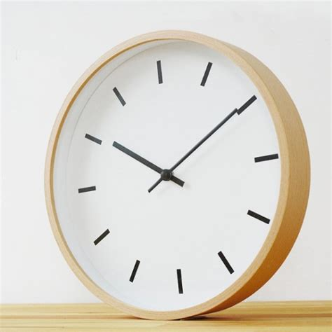 minimalistic wall clock 30 large wall clocks that don t compromise on style