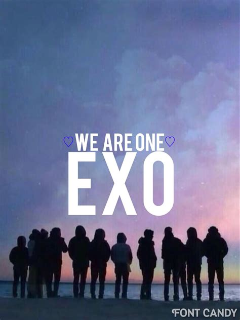 exo one and only exo we are one exo wallpapers lyrics quotes
