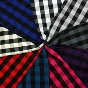 versatile sew in in buffalo black fuchsia buffalo plaid cotton spandex knit fabric by