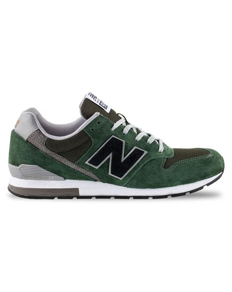 suede sneakers mens new balance 996 green suede sneakers in green for lyst