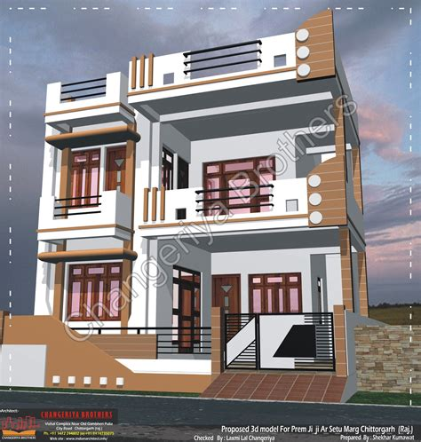 home naksha design online 3d naksha mr prem ji at chittorgarh 30x60 3d model and