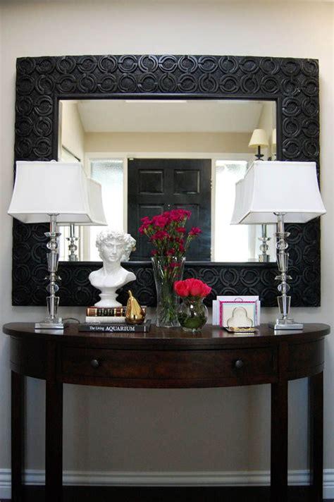 love  entry table decor marcus design blog home