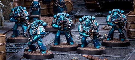 not much uproar alpha legion and paint scheme warhammer 40 000 eternal