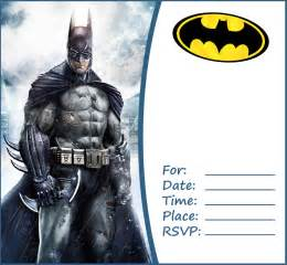 batman invitation template batman free printable invitation templates