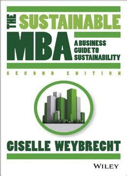 The Sustainable Mba A Business Guide To Sustainability Pdf the sustainable mba a business guide to sustainability