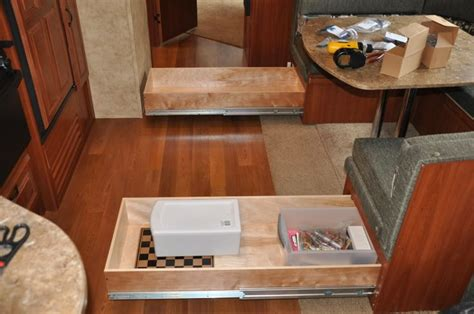 slide out drawers for rv 17 best images about airstream on rv storage