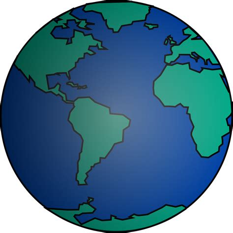 clipart mondo globo terraqueo mundo free images at clker vector