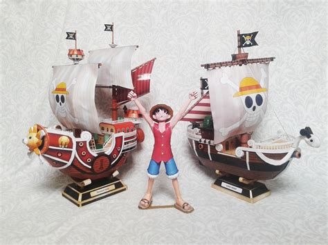 Papercraft Going Merry - go and going merry papercraft by nandablank on