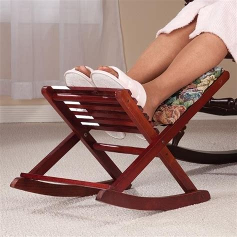 small collapsible foot stool new rocking foldable footrest footstool ottoman stool