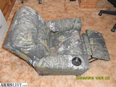 armslist for sale brand new childs camo recliner sold