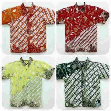 Blus Batik Cap Pola Bahu Tunik 2 hem batik anak pola parang batik lestari pusat batik