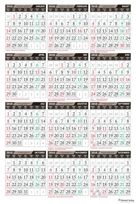 format kalender 2018 category kalender 2018