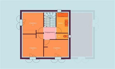 Plan Maison 4 Chambres Etage by Devis Plan Construction Maison Individuelle 224 233 Tage 4