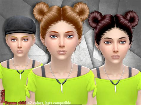 childs hairstyles sims 4 sintikliasims sintiklia hair dayana child