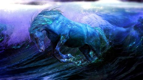 magical horse art wallpaper wallpaper studio  tens