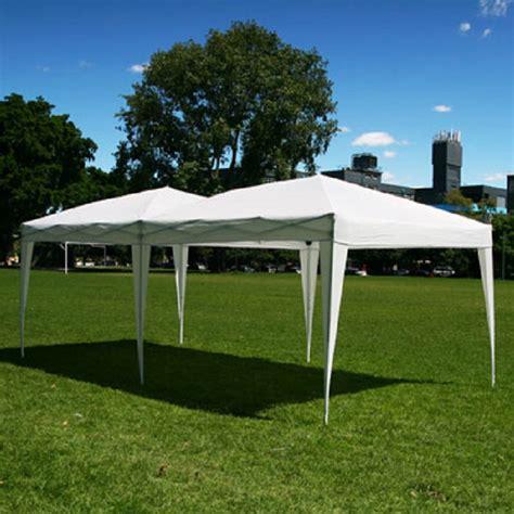 6 X 10 Gazebo 10 X 20 Palm Springs Pop Up Canopy Gazebo Tent With