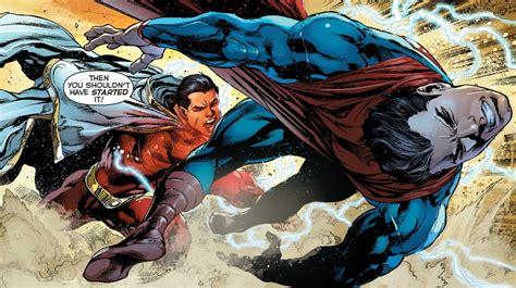 superman vs captain marvel shazam quot hero envy quot the blog adventures superman vs captain marvel