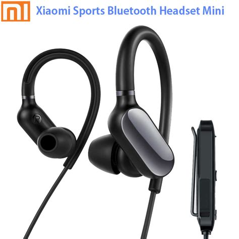 Murah Headset Xiaomi Blototh Mi Headset Bluetooth Original 100 in stock original xiaomi mi sports bluetooth headset mini bluetooth 4 1 sport earbud mic