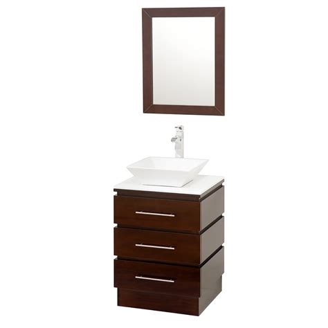 Wyndham Bathroom Vanities by Wyndham Collection Rioni 22 Quot Bathroom Vanity Set Espresso