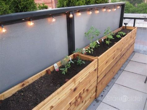 Vegetable Planters For Deck by 25 Best Ideas About Planter Box Plans On Diy