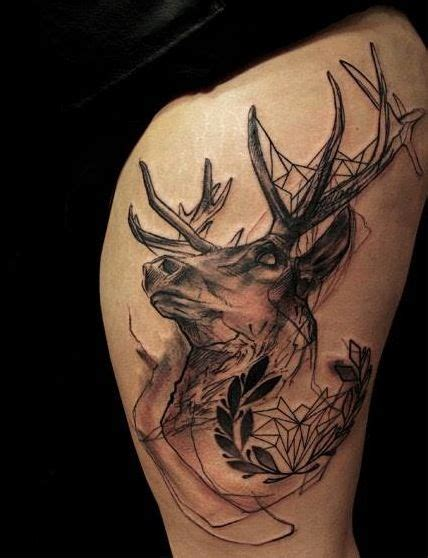girl deer tattoo designs tattoos and designs page 243