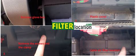 Where Is The Cabin Filter Located by Cabin Air Filter Installation Mitsubishi Triton L200