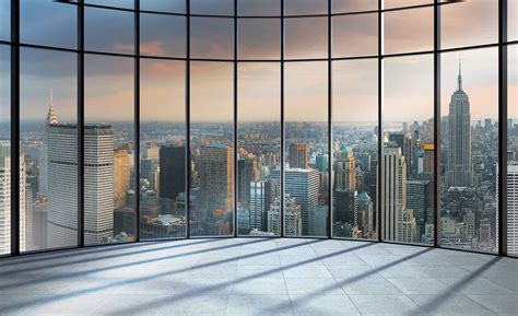 wall mural new york view new york city wall paper mural buy at europosters